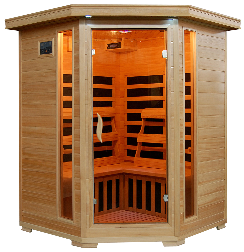 why you should be using an infrared sauna danny kennedy fitness. Black Bedroom Furniture Sets. Home Design Ideas