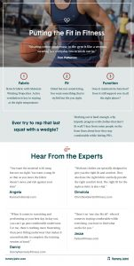 Fitness-Expert Tips V1